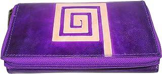Abhijit Sil Handicraft Women's Clutch (Violet)