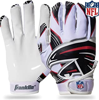 Franklin Sports NFL Atlanta Falcons Youth Football Receiver Gloves - Medium/Large