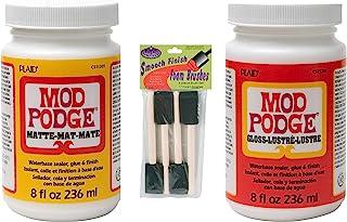 Mod Podge Decoupage Kit (Mod Podge with Foam Brushes-8 oz.)