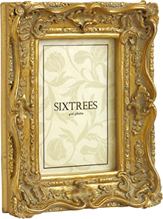 Sixtrees - Para Chelsea - Marcos Estilo Chic Envejecidos Muy Adornados para Fotografías de 150 x