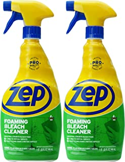 Zep Foaming Bleach Cleaner 32 Ounce (Pack of 2)