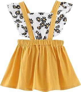 Robe d'été sans manches pour fille - Élégante et élégante - Robe d'été - 0 – 24 mois