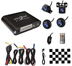 Weivision Universal 360 Degree Bird View System Car DVR Record Panoramic View All Round Rear View Camera System for All Car