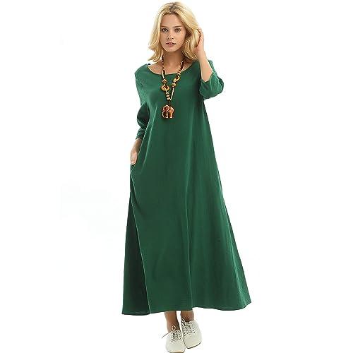 Plus Size Linen Dresses: Amazon.com