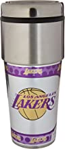 Great American Products NBA Los Angeles Lakers Metallic Tumbler, One Size, Black