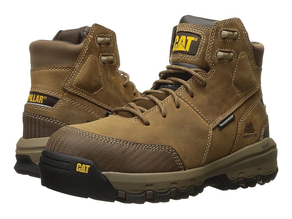 Caterpillar Device Waterproof Composite Safety Toe (Dark Beige) Men