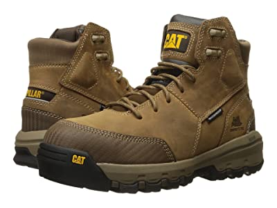 Caterpillar Device Waterproof Composite Safety Toe (Dark Beige) Men