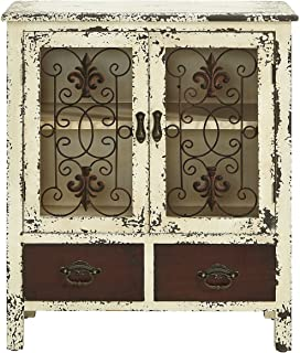 Best distressed antique white cabinets Reviews