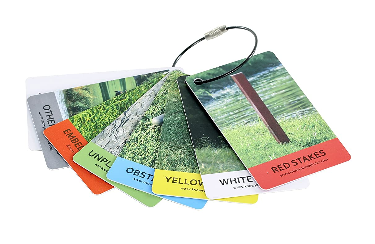 IZZO Golf- Know Your Rules Bag Tags