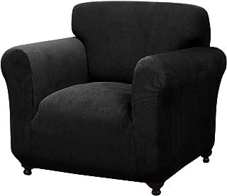 Madison BK Kathy Ireland Day Break Chair Slipcover, Black
