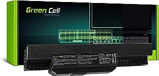 Green Cell® Standard Serie A32-K53 A41-K53 Batería para ASUS A53 A53E A53S A53U K53B K53SC K53SD K53SM K53T K53TA K53TK K53Z X53E X53T X54HY Ordenador (6 Celdas 4400mAh 10.8V Negro)