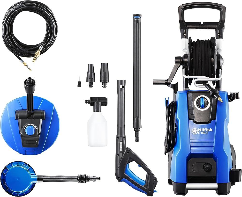 Nilfisk E160.1-10 PADH X-TRA Hidrolimpiadora de Agua a Presión, 2300 W, 230 V, Azul