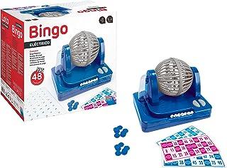 Falomir- Bingo Eléctrico, Juego de Mesa, Clásicos, 27 x 24 x 17 cm (27922)