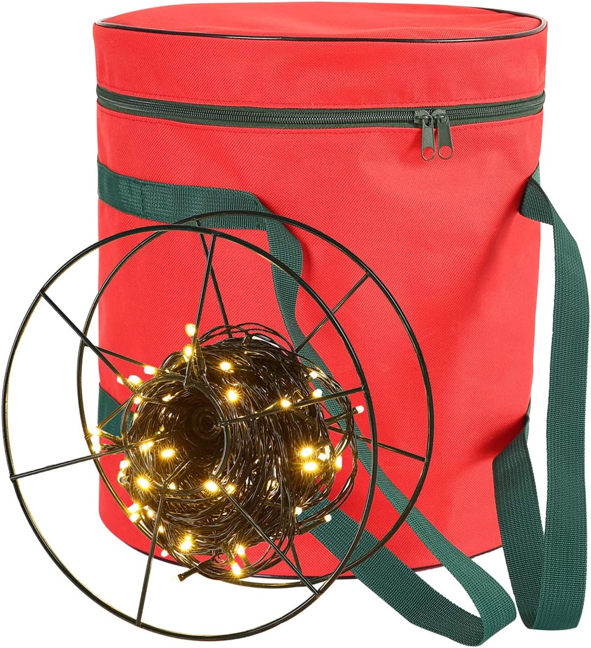 Sattiyrch Clearance SALE! Limited time! Christmas Light Storage Bag - to with Topics on TV Reels 3 Metal St