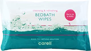 Clinell Bed Bath Wipes - Pack of 8