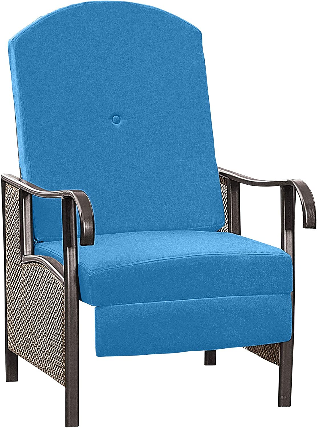 BrylaneHome Oversized Max 45% OFF Outdoor Recliner Patio Bombing new work with Cushion Chair