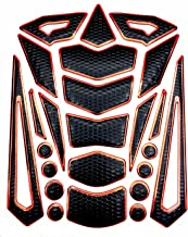 Niree Motorcycle Tank Gas Metallic Luster Protector Pad Sticker Decal for Honda NC700 S/X CB599 / CB600 HORNET CBR 600 F2,F3,F4,F4i CB919 CBR900RR VTX1300 (C03#)