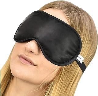 Jasmine Silk 100% Pure Silk Filled Eye Mask/Sleeping Mask