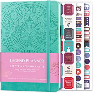 Sponsored Ad - Legend Planner – Deluxe Weekly & Monthly Life Planner to Hit Your Goals & Live Happier. Organizer Notebook... photo