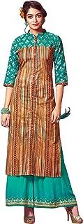 ladyline Kurtis for Women with Palazzo Pants Set Kurta Indian Tunic Top Dress
