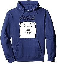Coca Cola Polar Bear Logo Pullover Hoodie