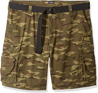 LEE Mens Big /& Tall Dungarees New Belted Wyoming Cargo Short