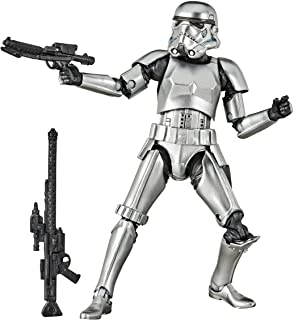 STAR WARS The Black Series Carbonized Collection Stormtrooper Action Figure Toy, 6-Inch