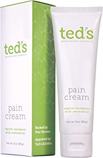 Sponsored Ad - Ted's Pain Cream with Resveratrol