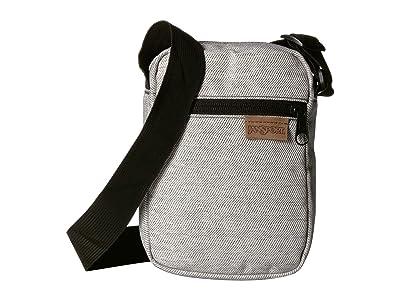 JanSport Weekender FX (Black Mix Wavy Twill) Bags