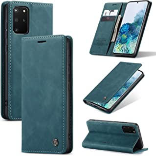 Galaxy S20/S20 Plus/S20 Ultra Slim Folio Leather Wallet Card Holder Case Magnetic Kickstand Potective Flip Cover
