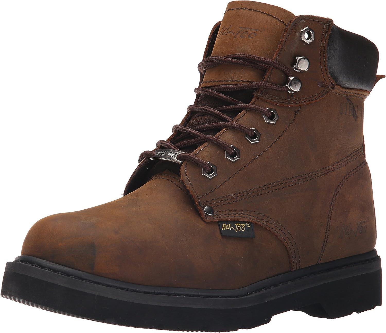 Adtec Men's 6 Inch Steel Toe 1981 Work Boot