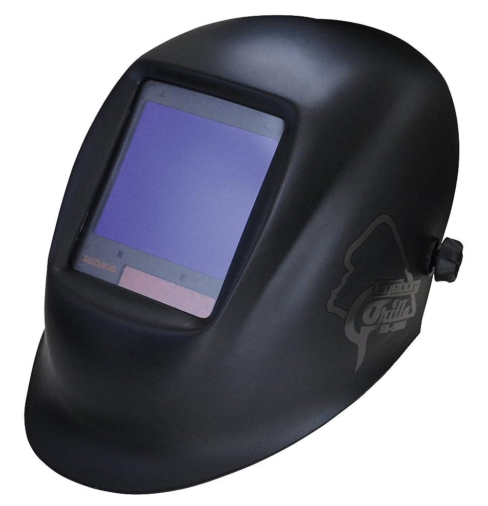 受け入れ適合するバイソンスズキッド(SUZUKID) 液晶式自動遮光面 アイボーグGORILLA EB-300G