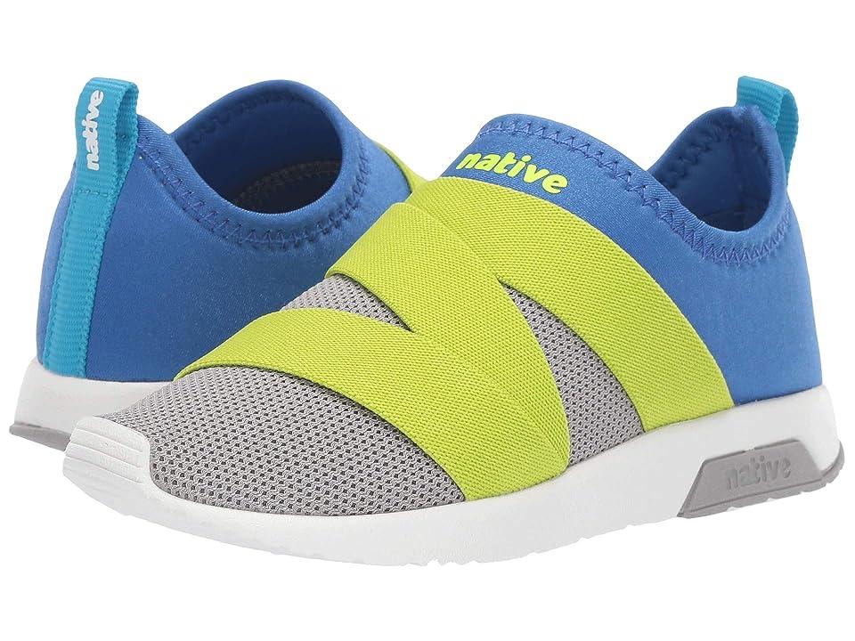 Native Kids Shoes Phoenix (Little Kid) (Pigeon Grey/UV Blue/Shell White) Kids Shoes