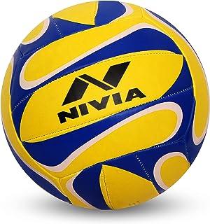 Nivia Rubber Trainer 18-P Volleyball (Multicolor)
