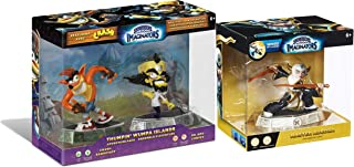 Light Skylanders Imaginators Elemental Thumpin' Whumpa Islands 3-Character Bundle - Crash Bandicoot, Dr. Neo Crotex & Master Aurora
