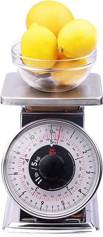 Tada Mechanical Kitchen Scale Flat Top 32 Ounces