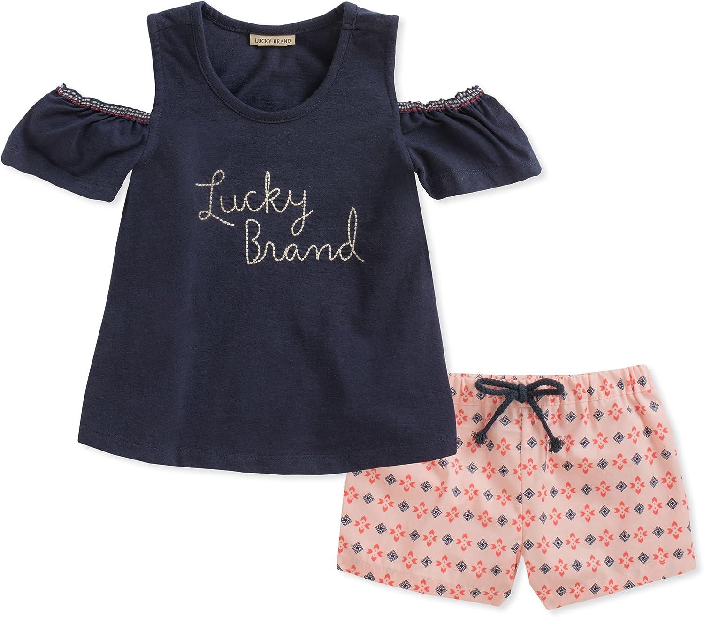 Lucky Brand baby-girls Shorts Set