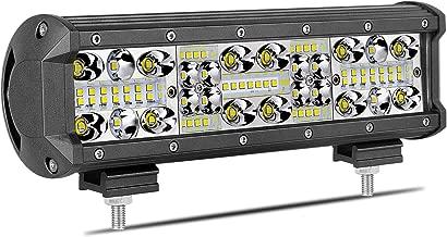 LED Light Bar, Wayup 10 Inch 150W OSRAM Quad Row LED Light Spot Flood Combo Light Bar Off Road Driving Light LED Work Light Jeep Fog Light for ATV, UTV, Truck, Car, Boat, 4X4