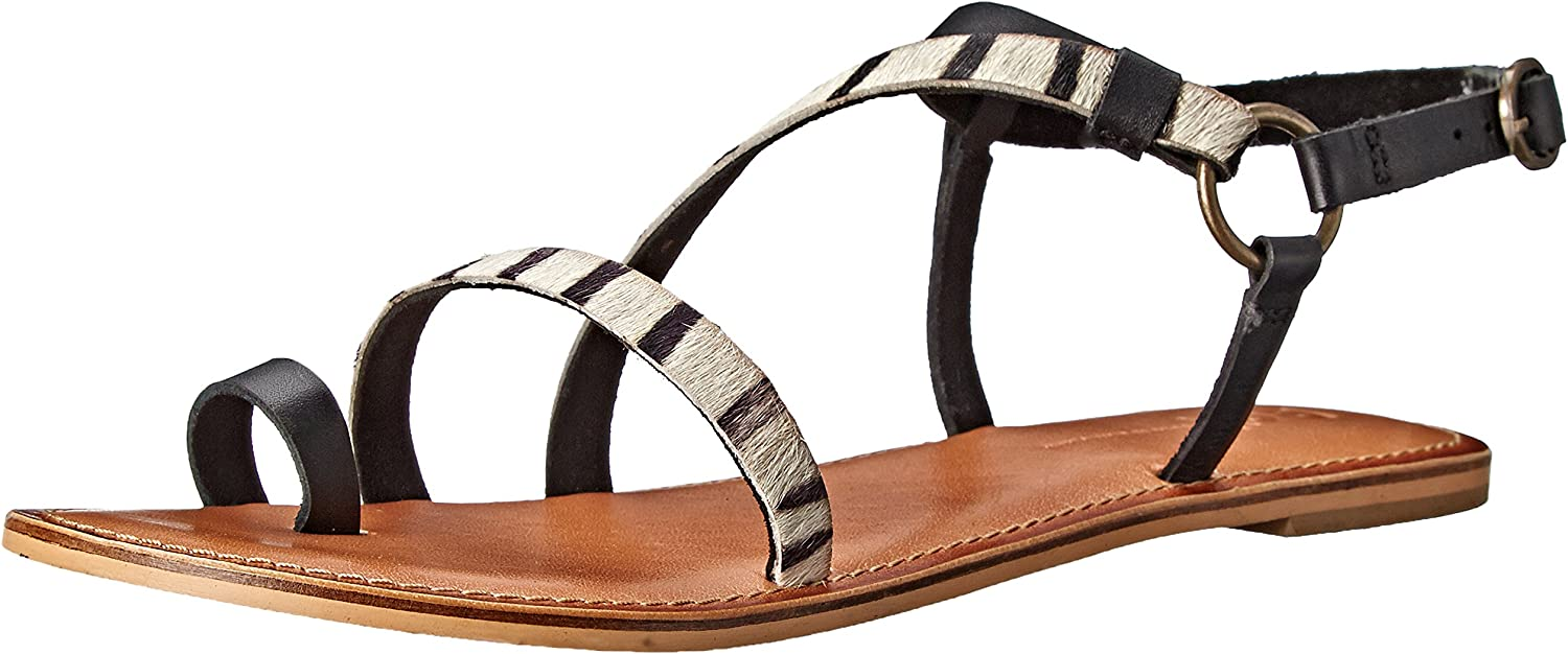 BC Footwear Women's Mother Lode Toe-Ring Sandal