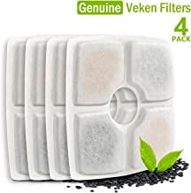 Veken Replacement Filters for 84oz/2.5L Automatic Pet Fountain Cat Water Fountain Dog Water Dispenser