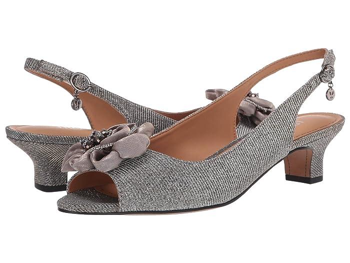 J. Renee Leonelle (Pewter Glitter) Women's Shoes
