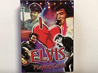 I Love Elvis Playing Cards