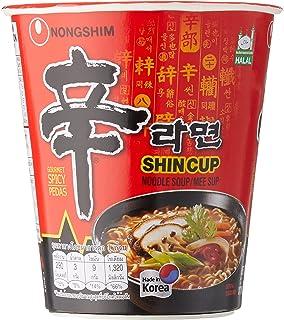 Nongshim Shin Cup Noodles, 12 x 68g