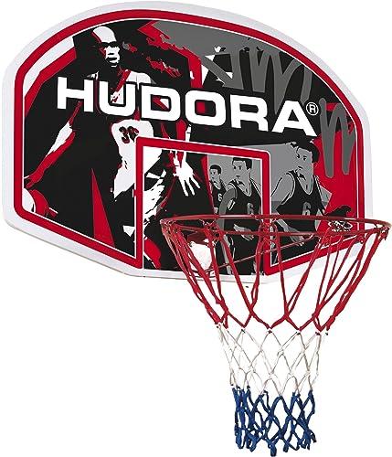 Hudora - 71621 - Jeu de Plein Air et Sport - Panier Basket In/Outdoor - 45,7 cm de Diamètre