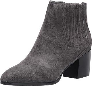 Blondo Women's Heeled Bootie Fashion Boot, Grey Suede, 7