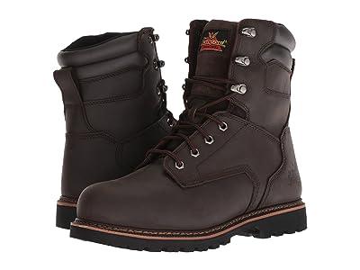 Thorogood V-Series Work Boot 8 Steel Toe (Brown) Men