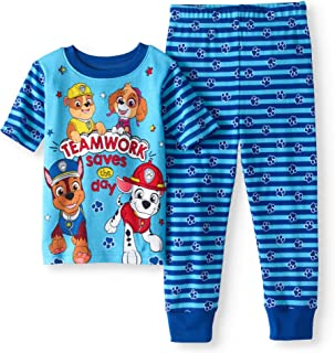 Paw Patrol Teamwork Saves The Day Toddler Boys 2 Piece Sleepwear Pajama Set