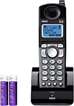 RCA 25055RE1 DECT 6.0 Cordless Accessory Handset with Built-in Voice Memo Recorder - 2 Line Phone Systems for Small Busine... photo