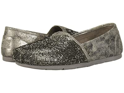 BOBS from SKECHERS Luxe Bobs Tea Rose (Pewter) Women