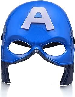 Comics Costume Superhero LED Light Eye Mask (Captain America #2)